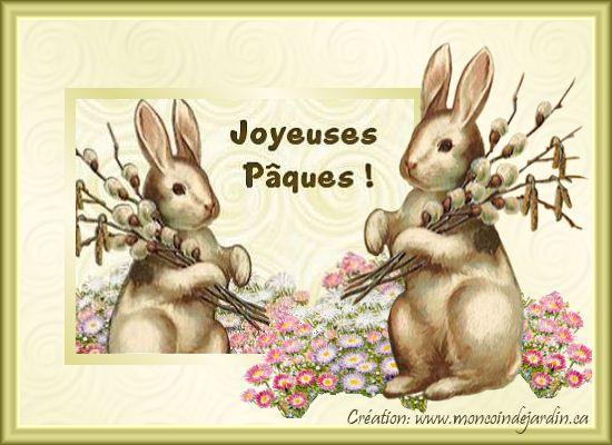 Cartes de joyeuse Pâques. Cartepaques10_