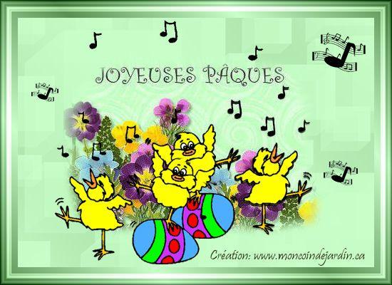 Cartes de joyeuse Pâques. Cartepaques27_
