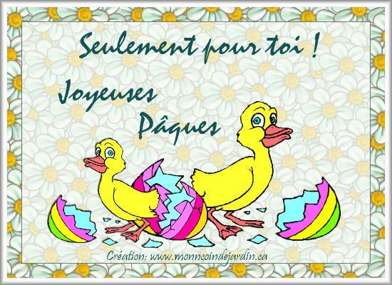 Cartes de joyeuse Pâques. Cartepaques30_