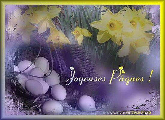 Cartes de joyeuse Pâques. Cartepaques35_