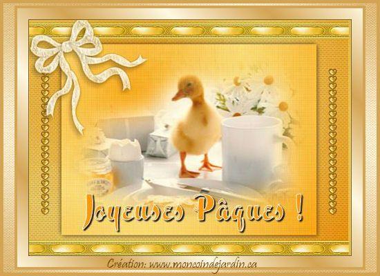 Cartes de joyeuse Pâques. Cartepaques38_
