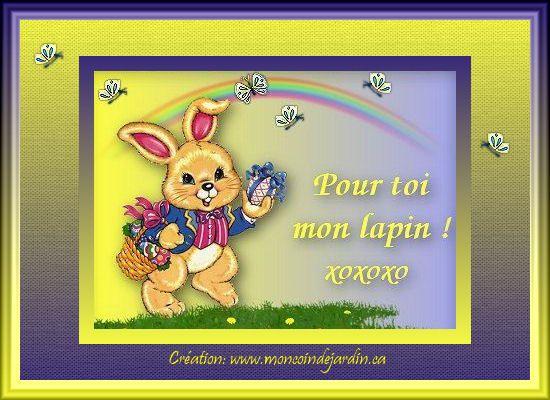 Cartes de joyeuse Pâques. Cartepaques3_