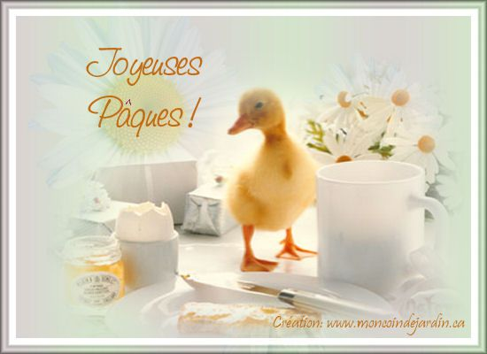 Cartes de joyeuse Pâques. Cartepaques5_